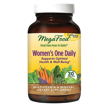 MegaFood Women's One Daily Multivitamin & Mineral Supplement - 30.0 ea