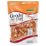 Good 'n' Fun Triple Flavor Twist Chews For Dogs