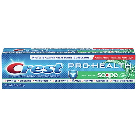 Crest Whitening Toothpaste with a Touch of Scope - 4.6 OZ