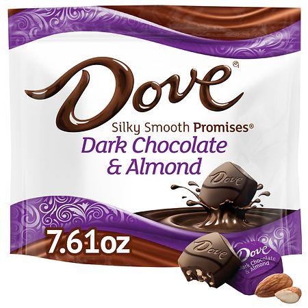 Dove Silky Smooth Dark Chocolate Almond - 7.61 oz.