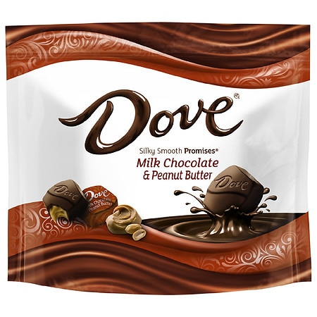 Dove Promises Peanut Butter and Milk Chocolate Candy - 7.61 oz.