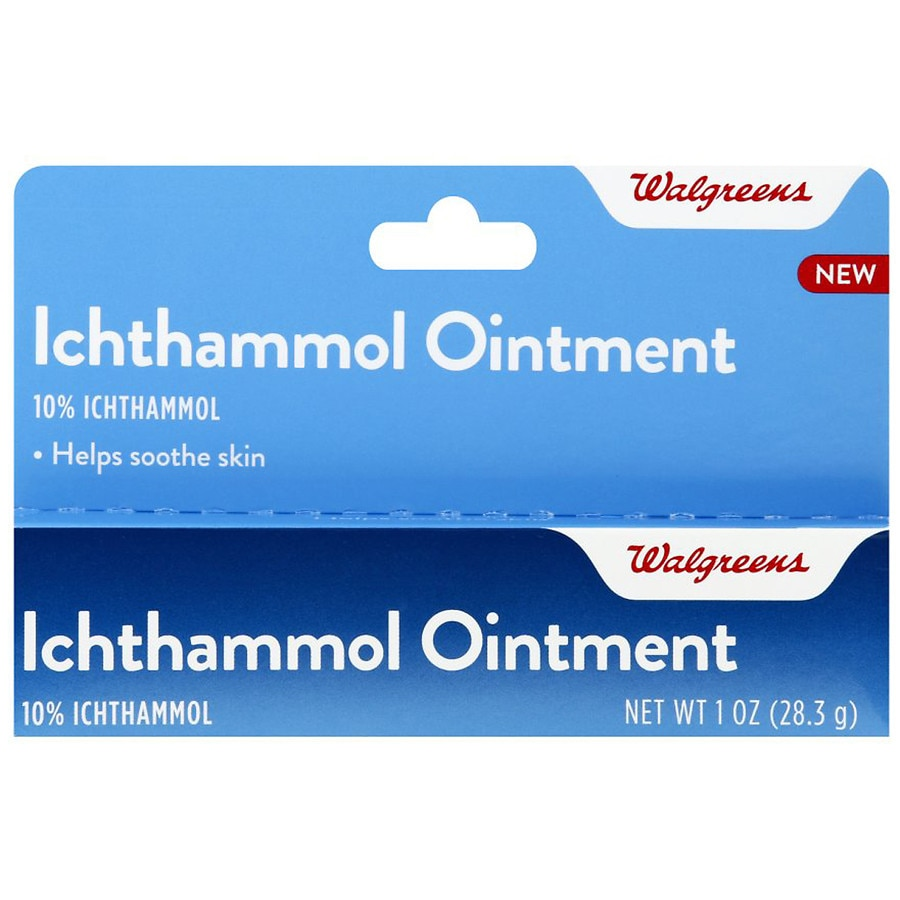 Walgreens Ichthammol Ointment