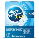 Alka-Seltzer Plus Cold Sparkling Original Effervescent Tablet with Pain Reliever Fever Reducer