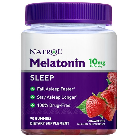 Natrol Melatonin 10 mg Gummies - 90 ea