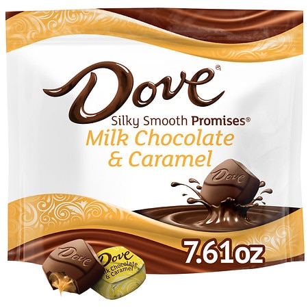 Dove Promises Caramel and Milk Chocolate Candy Bag - 7.61 oz.