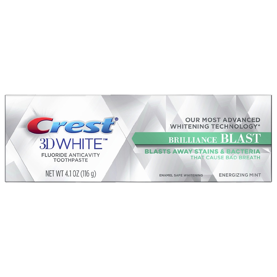 Crest 3d White Brilliance Blast Whitening Toothpaste Energizing