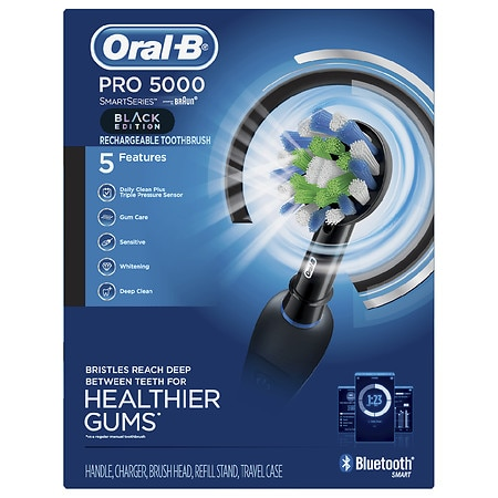 Oral-B Pro 5000 SmartSeries Electric Toothbrush with Bluetooth Connectivity - 1 ea