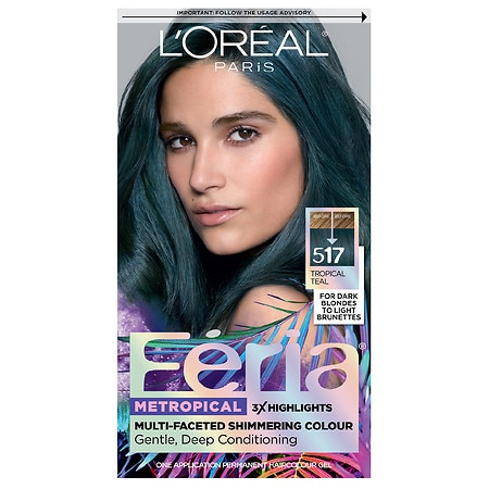 L'Oreal Paris Feria Multi-Faceted Shimmering Permanent Hair Color - 1.0 ea