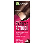 Garnier Express Retouch Gray Hair Concealer, Instant Gray Coverage Brown