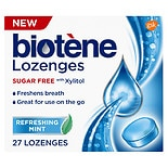 Biotene Dry Mouth Lozenges for Fresh Breath Refreshing Mint