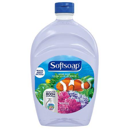 Softsoap Liquid Hand Soap Aquarium Refill - 50.0 fl oz