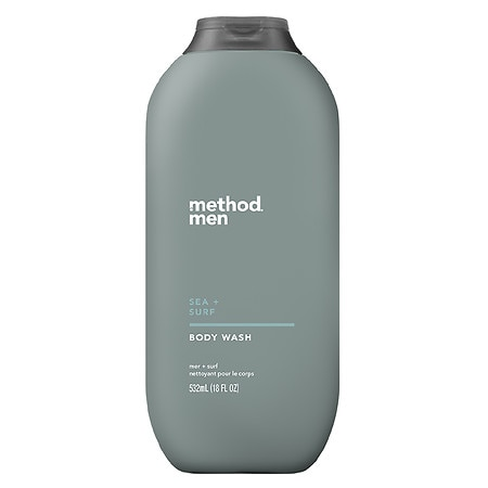 Method Men's Sea and Surf Body Wash Sea + Surf - 18 fl oz