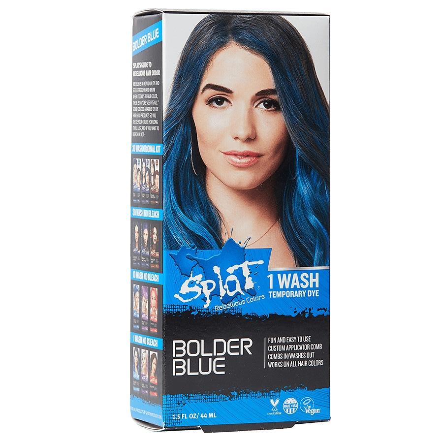 Splat 1 Wash Comb In Hair Dye Bolder Blue