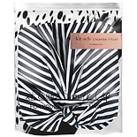 KITSCH Stripe Shower Cap BLACK/ WHITE