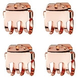 KITSCH Mini Claw Clips Rose Gold