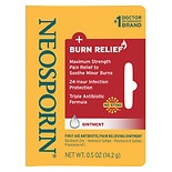Neosporin + Burn Relief First-Aid Antibiotic Ointment