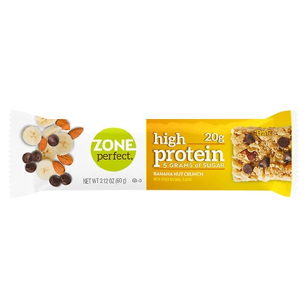 ZonePerfect High Protein Nutrition Bar Banana Nut Crunch - 2.12 oz.