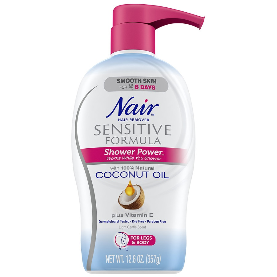 Nair Hair Remover Sensitive Formula Shower Power Walgreens
