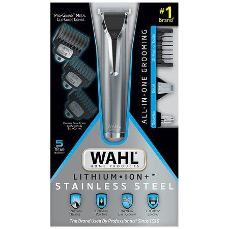 Wahl Lithium Ion Plus Stainless Steel Grooming Kit - 1 ea