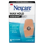 Nexcare Max Hold Waterproof Bandages, Knee & Elbow