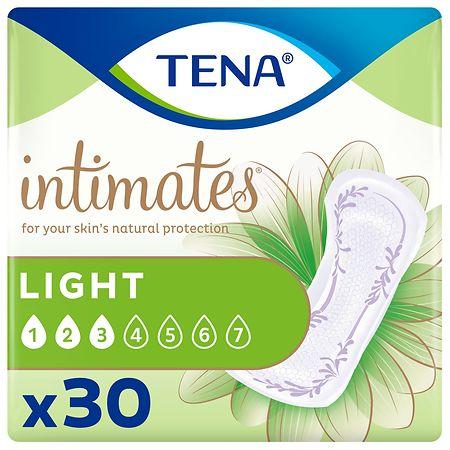 Tena Intimates Ultra Thin Light Incontinence Pad - 30 ea