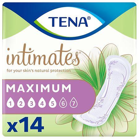Tena Intimates Heavy Regular Incontinence Pad - 14 ea