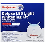 Walgreens Deluxe LED Light Whitening Kit Peppermint
