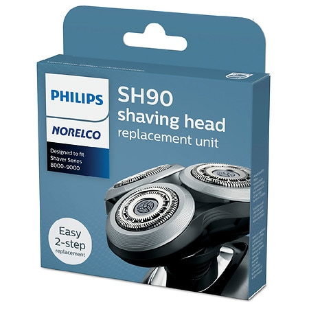 Philips Norelco Shaver 9000 Replacement Head, SH90/72 - 1 ea