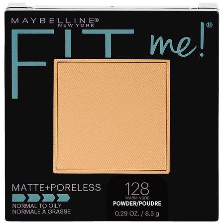 Maybelline Fit Me Matte + Poreless Pressed Face Powder Makeup - 0.29 oz.