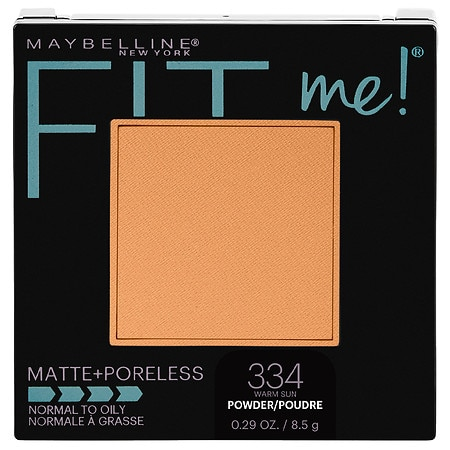 Maybelline Fit Me Matte + Poreless Pressed Face Powder Makeup - 0.29 oz.