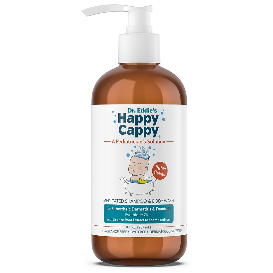 Happy Cappy Children's Medicated Shampoo & Body Wash for