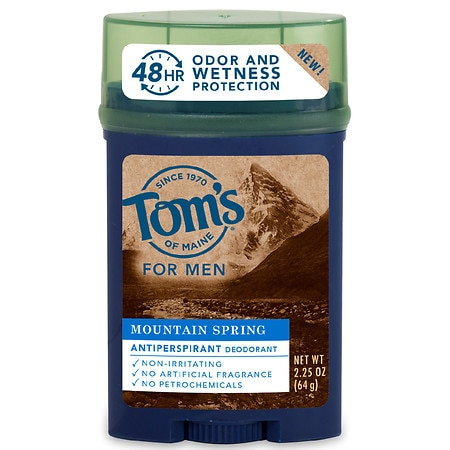 Tom's of Maine Men's Stick Antiperspirant - 2.25 oz.