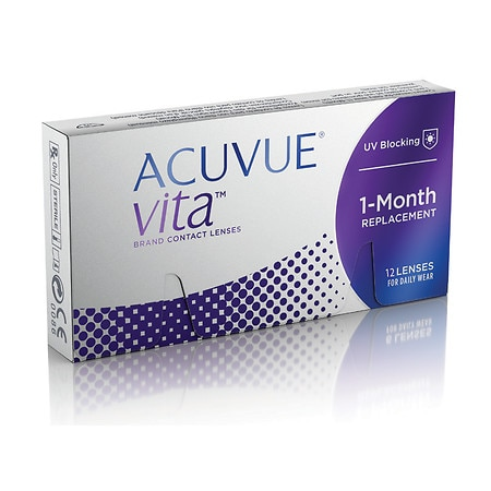 Acuvue Vita 12pk Acuvue Vita 12 Pack - 1 Box