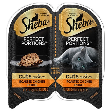 Sheba Perfect Portions Roasted Chicken - 1.3 oz. x 2 pack