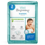 Well Beginnings Premium Diapers Size 2