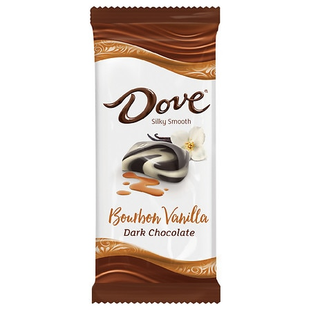 Dove Dark Chocolate Candy Bar Bourbon Vanilla - 3.9 oz.