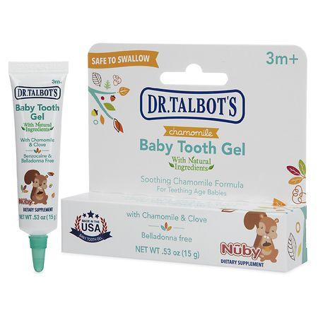 Nuby All Natural Teething Gel - 0.53 oz.