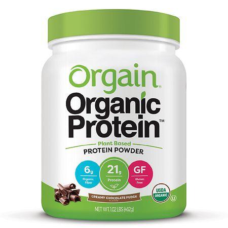 Orgain Organic Plant Based Protein Powder - 16.32 oz.
