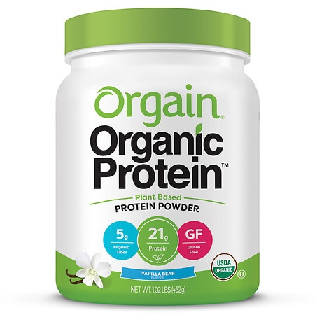 Orgain Organic Plant Based Protein Powder - 16.32 oz.