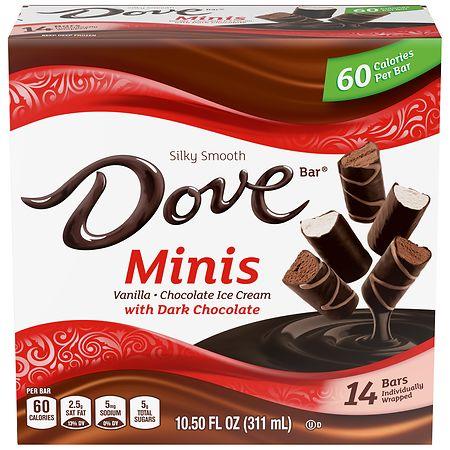 Dove Minis Dark Chocolate Variety - 10.5 oz.