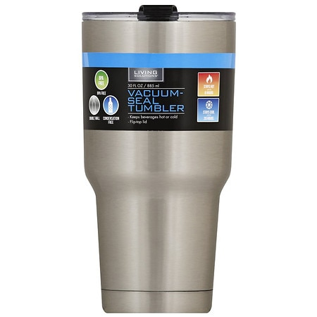Living Solutions Double Wall Stainless Steel Vacuum Tumbler - 1 ea