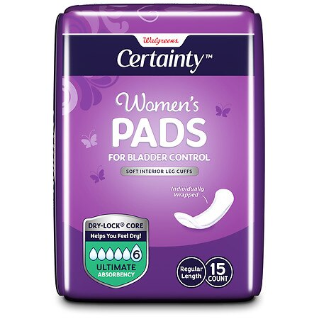 Walgreens Women's Thin and Discreet Bladder Control Pads, Ultimate Ultimate - 15 ea