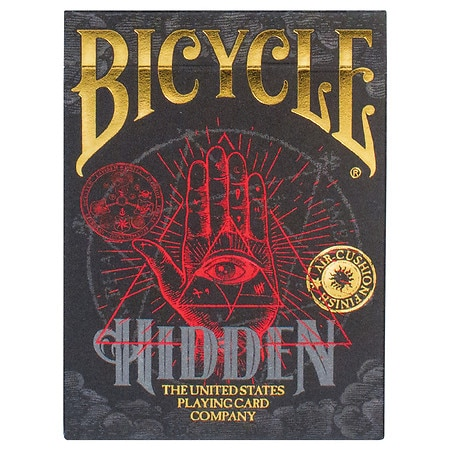 Bicycle Traditional Playing Cards Hidden - 1 ea