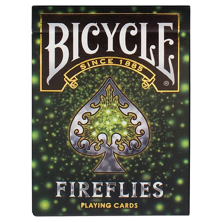 Bicycle Fireflies Playing Cards - 1 ea
