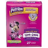 Huggies Pull-Ups For Girls, Potty Training Pants, 12-24M (14-26 lbs.)