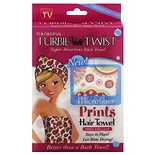 Turbie Twist Microfiber Prints Hair Towel