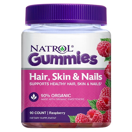 Natrol Hair, Skin & Nails Gummies - 90 ea