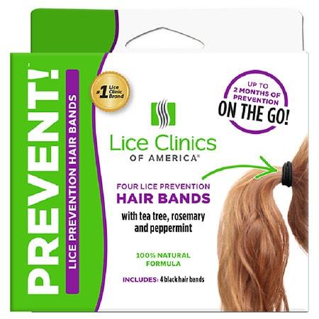 Lice Clinics of America LCA PREVENT! Lice Prevention Hairband 4 ct - 4 ea