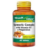 Mason Natural Turmeric Complex With D3+ Magnesium Tablets