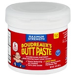 Boudreaux's Butt Paste Diaper Rash Ointment, Maximum Strength